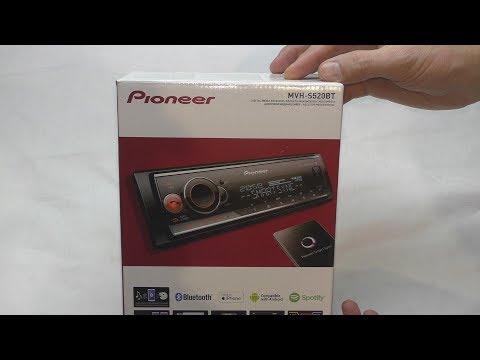 Pioneer MVH S520BT, распаковка, обзор, настройки, моё мнение об этом аппарате
