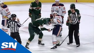 Darnell Nurse Lands Multiple Punches On Jordan Greenway In Spirited Fight
