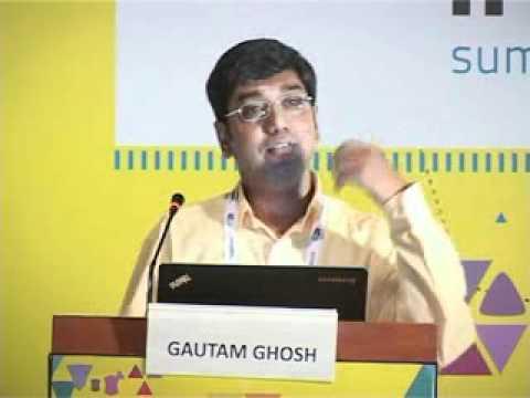 Gautam Ghosh, BraveNew Talent at the IndiaSocial Summit 2012