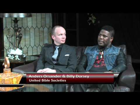Dr Thomas Abraham sits down with members of The United Bible Society