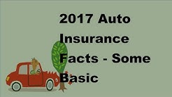 2017 Auto Insurance Facts  | Some Basic Knowledge About Taxi Insurance Quotes