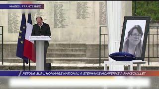 Yvelines | Retour sur l'hommage national à Stéphanie Monfermé à Rambouillet
