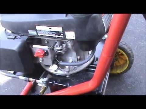 honda engine leaking oil  governor shaft youtube