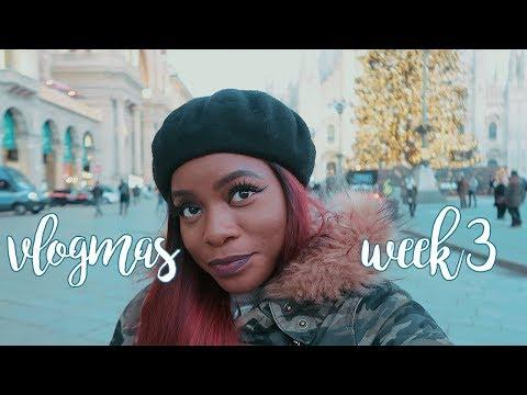 VLOGMAS WEEK 3 | SONO TORNATA, LIFE UPDATES, MILAN AT CHRISTMAS