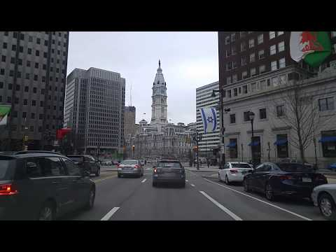 Driving by Philadelphia,Pennsylvania