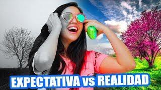 LO QUE TIENES vs LO QUE QUIERES! LOS LENTES MAGICOS! Expectativa vs Realidad - SandraCiresArt