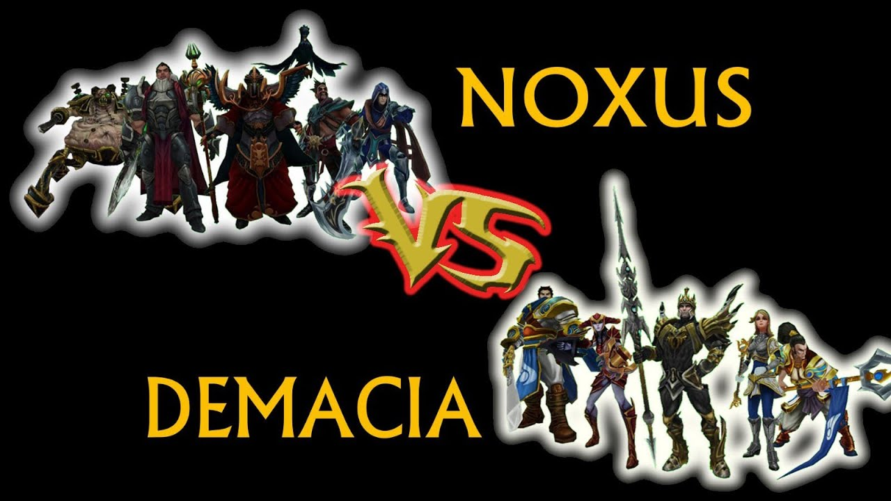 LoL: CSC - Round 1, Game 1 - Noxus Vs Demacia - YouTube