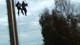 An awosome day on the giant swing at PGL