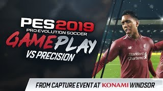 PES 2019 Gameplay - Liverpool vs Barcelona (vs Precision) Winter/Snow at Anfield!