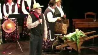 """Coro folcloristico toscano """"Cantantutticantanchio"""" - Donne, c'è l'ortolano (Odoardo Spadaro)"""