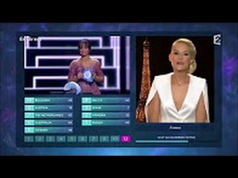 Les Jurys de l'Eurovision 2016, avec Elodie Gossuin