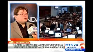 NTN 24 - Entrevista a Fundamedios sobre persecución a caricaturista Bonil