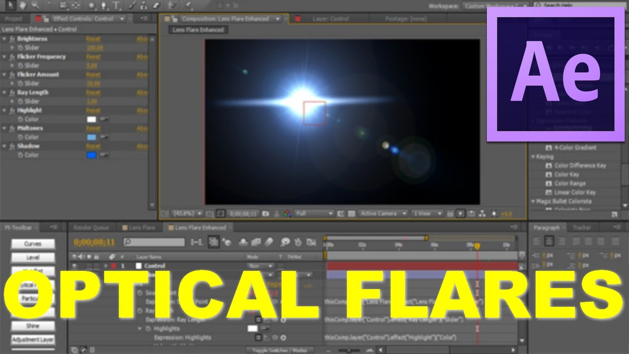 After Effect Cs4 How To Install Optical Flares Bahasa Indonesia