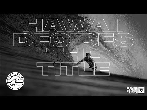 Hawaii Decides the Title // Billabong Pipe Masters Starts Dec 8th