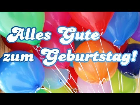 Happy Birthday (German Version)