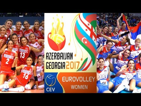 SEMI-FINAL Highlights | SERBIA vs TURKEY | CEV Women's EuroVolley 2017 ● BrenoB ᴴᴰ