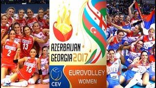 SEMI-FINAL Highlights  SERBIA vs TURKEY  CEV Womens EuroVolley 2017  BrenoB