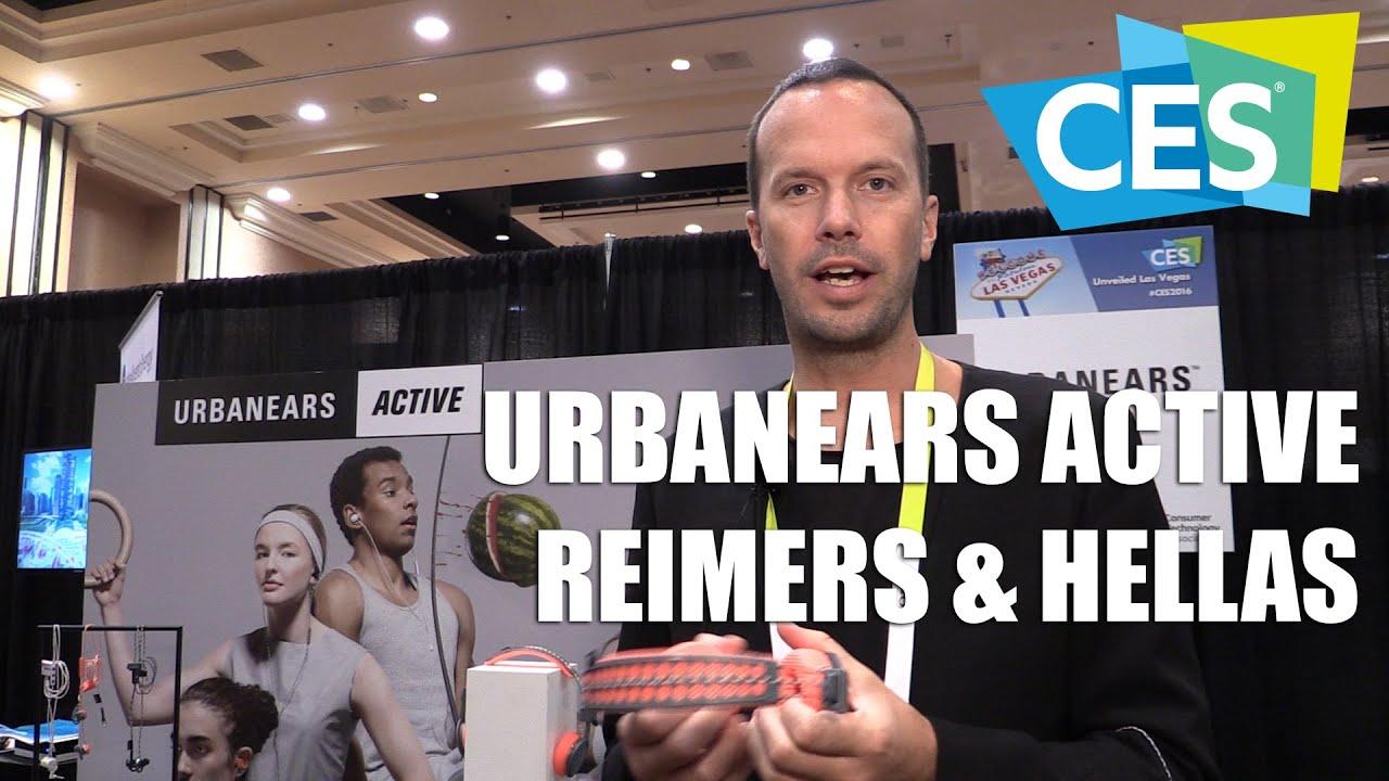 b3565f8240c Urbanears Active Reimers & Hellas Sports Headphones (CES 2016) |  Allround-PC.com