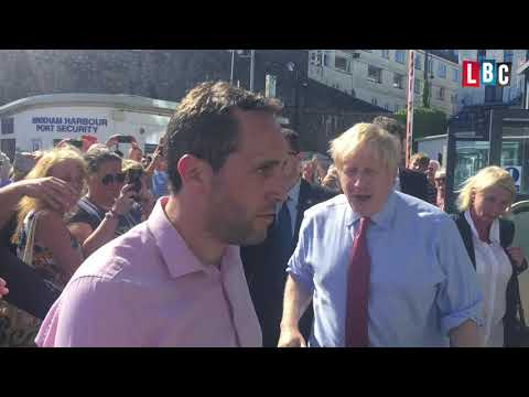 Boris Johnson's surprise Devon visit