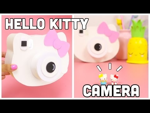 DIY Hello Kitty camera-cool crafts you HAVE to try