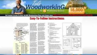 Woodworking Plans Bookcases & Daybed Woodworking Plans