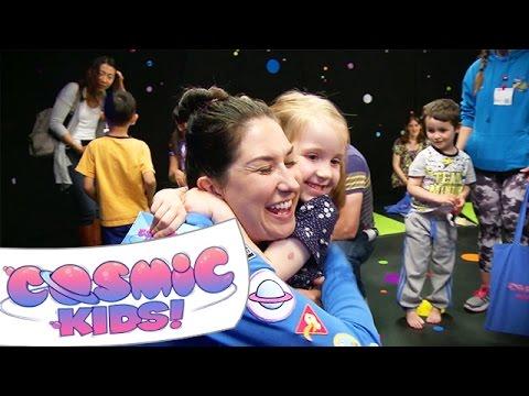 Cosmic Kids Live! | Behind the Scenesиз YouTube · Длительность: 2 мин55 с