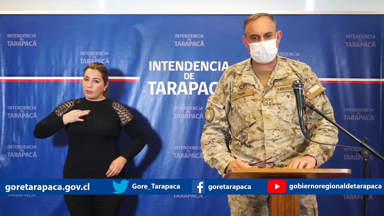 Punto de prensa 03 de julio de 2020 - Gobierno Regional de Tarapacá