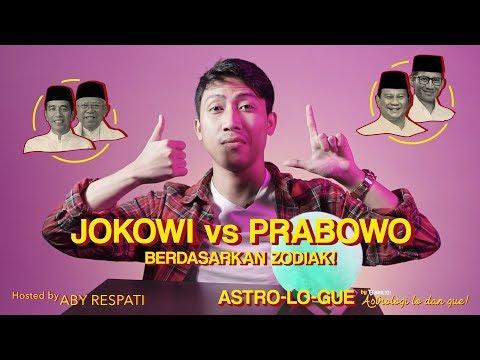 Astro-Lo-Gue Ep. 6 - Jokowi vs Prabowo Berdasarkan Zodiak!? Jangan Golput!
