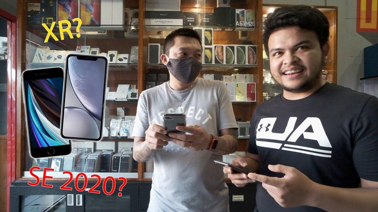 Iphone SE 2020 Atau Iphone XR 2018 Di Tahun 2020 ??? Gua ...