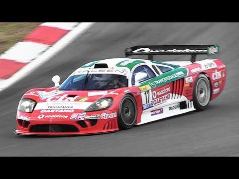 Saleen S7-R GT1 racing at Nürburgring – 7.0L V8 engine pure sound!