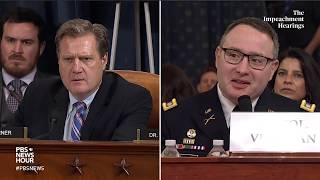 WATCH: Rep. Michael Turner's full questioning of Vindman and Williams | Trump impeachment hearings