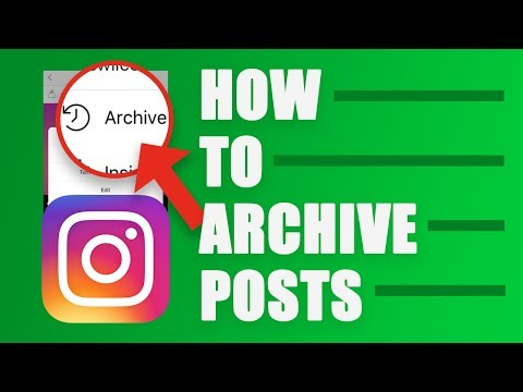 How to Archive or Unarchive Instagram Posts in 2019 - Hide Photos and Videos