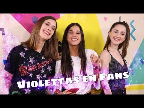 Cande Molfese, Clari Alonso y Mechi Lambre en Fans en Vivo