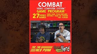 Angry Video Game Nerd (AVGN) vs Pat the NES Punk in COMBAT!