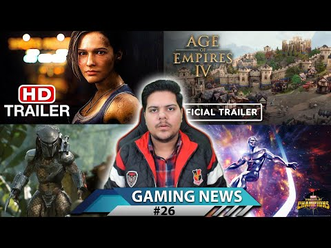 GAMING NEWS #26 – Resident Evil 3 Remake, Age of Empire 4, Predator Hunting Grounds, Marvel Game