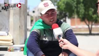 شابٌ يعتصم في «غزة» ويُضرب عن الطعام حتى يحصل على فرصة عمل