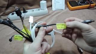 Обзор/сравнение кабелей micro USB - продолжение
