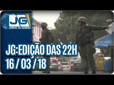 Jornal da Gazeta - Edição das 10 - 16/03/2018