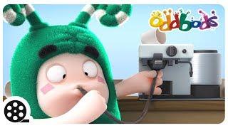 Cartoon | Oddbods - COFFEE HEAD | Funny Cartoons For Children