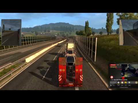 Euro Truck Simulator 2 Play Romania + Thrustmaster Gopro Cam #3