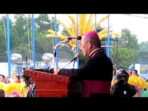 Diễn văn của Đức cha Phêrô Nguyễn Văn Nhơn chào mừng ĐHY Ivan Dias