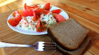 Салат вкусный и обалденный. Салат, очень полезный для здоровья! Рецепт салата.