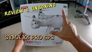unboxing dan Review SYMA X8 PRO Drone GPS terbaru dari SYma
