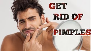 How To Get Rid Of Pimples Naturally | Cure Acne | Take Care Of Your Skin Naturally | Reduces Scars