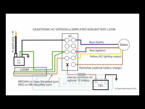 casatronic ignition lambretta wiring diagrams (english version) - youtube  youtube