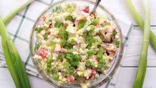 Healthy Salad Recipe  Fitness saladProtein salad