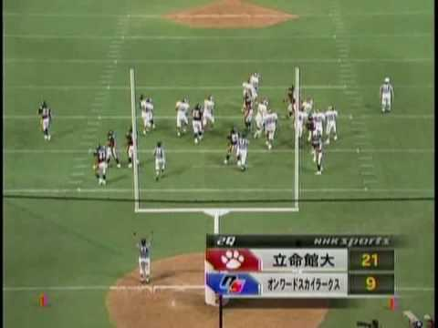 Japan College Football Greatest Team