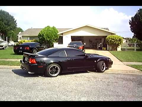 This is Black Beauty: 2004 Mustang GT: Borla Stingers, BBK O/R X-Pipe...