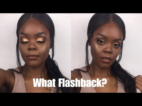 HOW TO GET NO FLASHBACK MAKEUP TUTORIAL TESTED!!