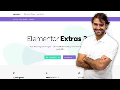 Elementor Extras': widgets más destacados - YouTube